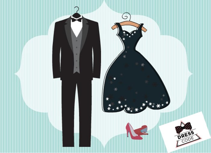 дресс код на свадьбу