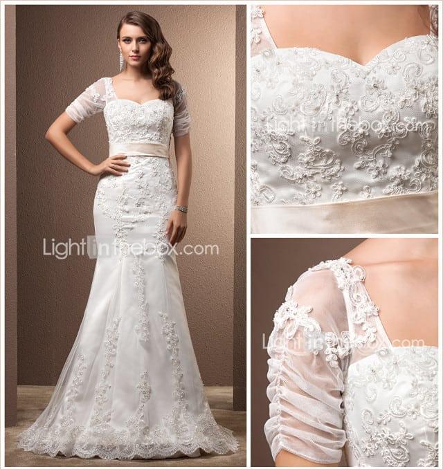 Свадебные платья сшить на заказ недорого