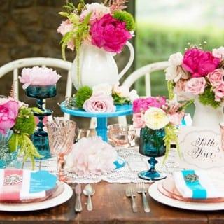 яркий свадебный декор