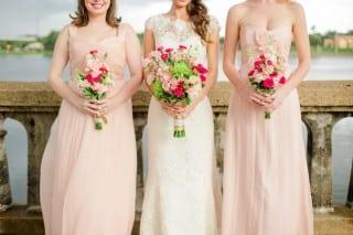 свадьба летом невеста и подружки