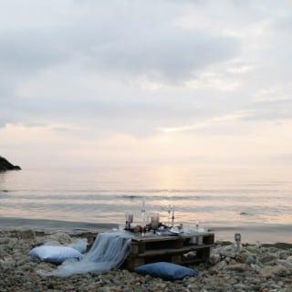 шикарная морская свадьба