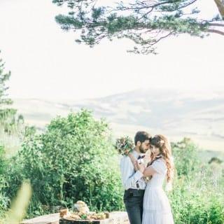 красивая свадьба в горах