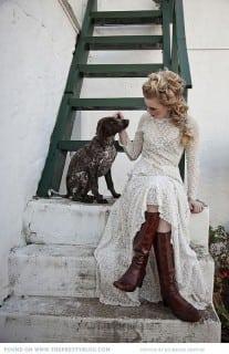невеста в сапогах
