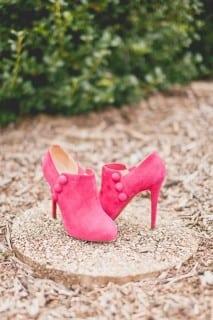 обувь для осенней невесты