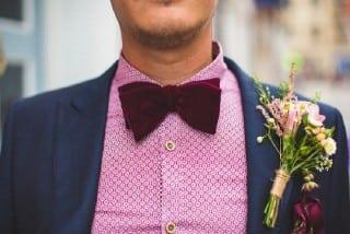 образ жениха осень галстук-бабочка