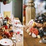 декор свадьбы осенью ягоды