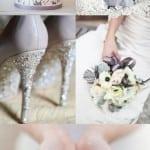 палитра для свадьбы зимой