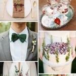 палитра для свадьбы зимой новый год