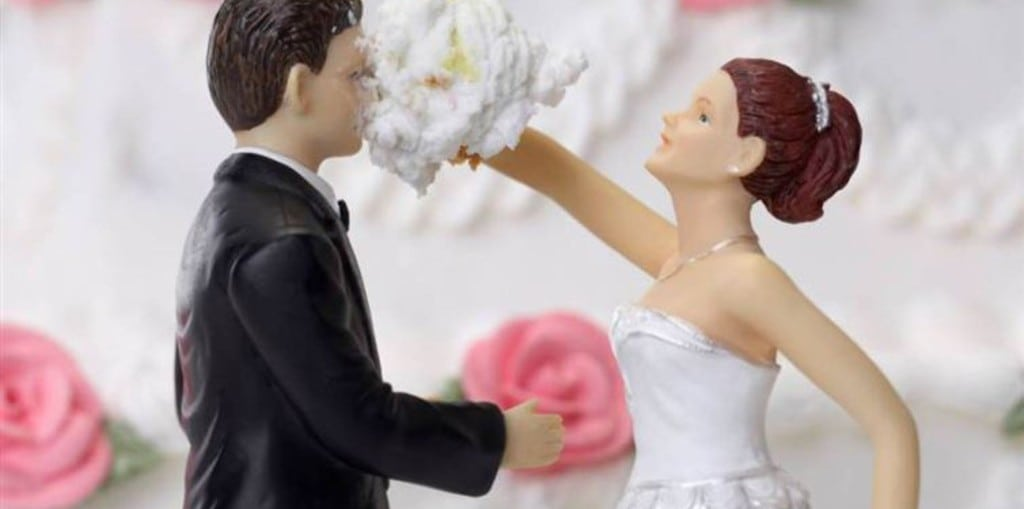 ссора на свадьбе