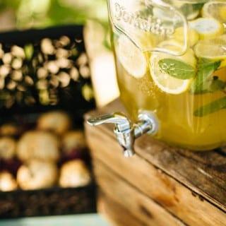 лимонад на свадьбе