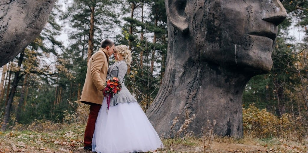 красивая свадьба осенью