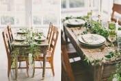 свадьба в стиле ботаникал