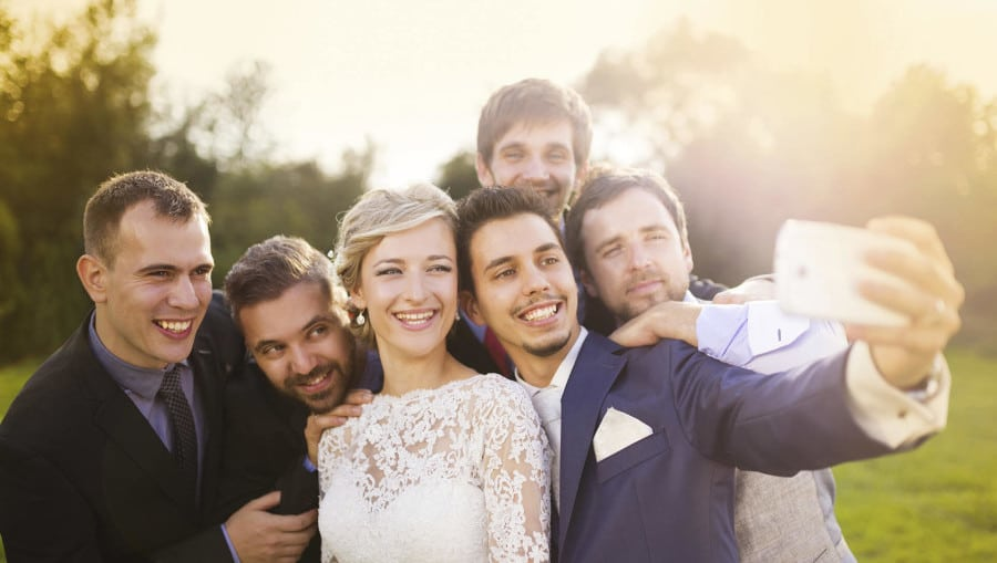 маленькая свадьба