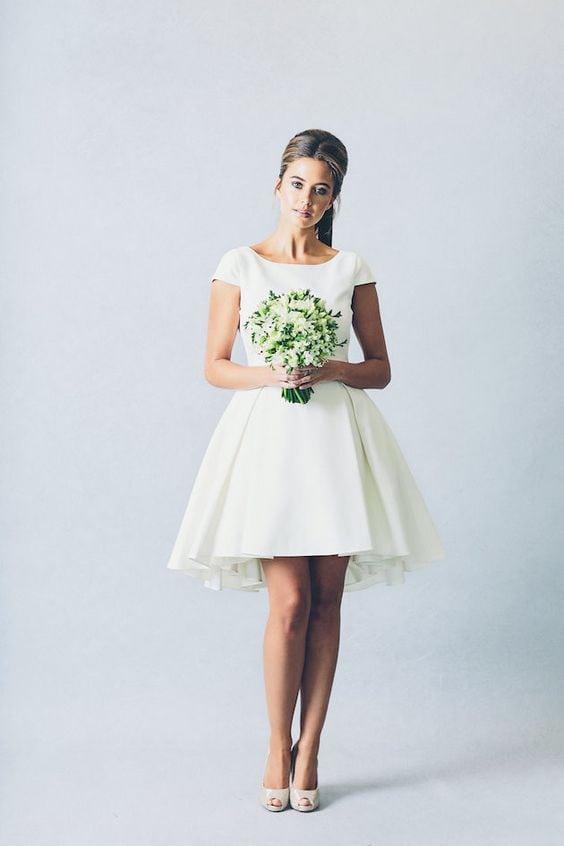 Платья короткие фото на свадьбу