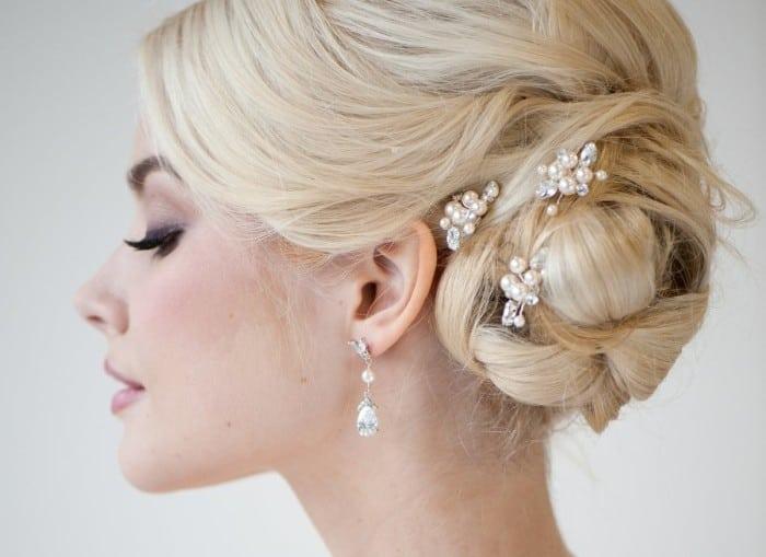Украшения в прическу невесты
