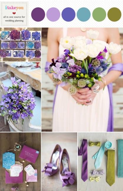 Сочетание цветов на нашу свадьбу