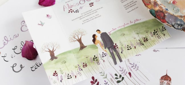 Приглашения на свадьбу: 7 модных трендов
