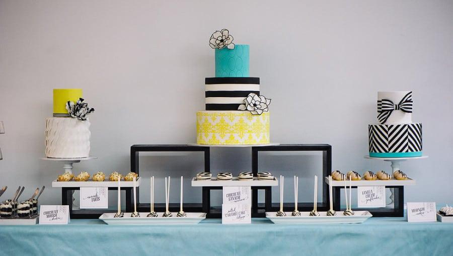 свадебный торт и сладкий стол